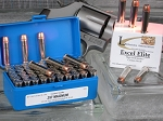 .357 Magnum, Custom-Quality Excel Elite REDUCED RECOIL Revolver Ammo, Loaded With 135-Grain Speer Gold Dot SHORT BARREL Bonded-Jacket Hollow Point, Box of 50