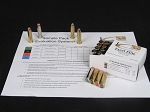 .44 Remington Magnum, Sample Pack 8, 20 Rounds (Ten each of  225-Grain Barnes XPB, and 240-Grain Speer Gold Dot Soft Points)