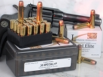 .38 Special +P, Custom-Quality Excel Elite Revolver Ammo  Loaded With 110-Grain Speer Gold Dot Hollow Point Short Barrel, Box of 20