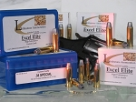 38 Special Custom Quality Excel Elite ammunition loaded with 158 grain Hornady Semiwadcutter Bullets, Box of 50, (Starline Brass)
