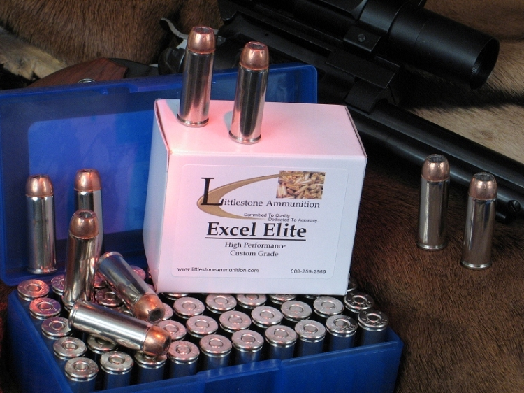 50 Rounds of 480 Ruger Excel Elite Loaded With 275-grain Speer