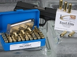 9mm Luger +P, 147-Grain Remington Golden Saber Brass-Jacketed Hollow Point, Box of 20