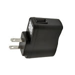 USB Wall Adapter, Black