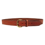 BIANCHI B9 Fancy Stitched Belt Tan, 36