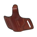 BIANCHI 5 Black Widow Leather Holster, Para 12, Plain Tan, Size 10, Left Hand