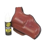 BIANCHI 55L Lightnin' Holster, Taurus 85CL, Plain Tan, Size 01, Left Hand