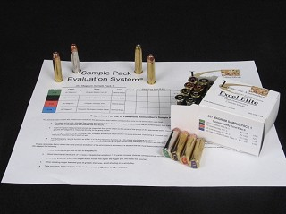 .45 Colt, Sample Pack 5, 20 Rounds (Ten each loaded with 265-grain Cast Performance Wide Flat Nose Gas Checked and  250-grain Hornady XTP bullets)