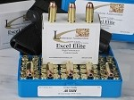 .40 S&W,  Pistol Ammunition Loaded With 165-Grain Speer Gold Dot Bonded-Jacked Hollow Point, Box of 50