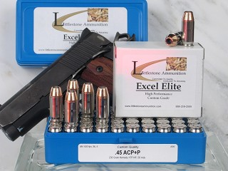 .45 ACP +P, 230-Grain Hornady XTP Jacketed Hollow Point, Box of 20
