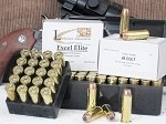 .45 Colt, Custom-Quality Excel Elite Revolver Ammo  Loaded With 230-Grain Speer Gold Dot SHORT BARREL Bonded-Jacket Hollow Point, Box of 20