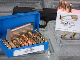 9mm Luger, 115-Grain Sierra JHP, Box of 50