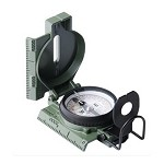 Phosphorescent Lensatic Compass, Clam Pack