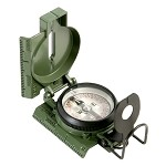 Official US Miltary Tritium Lensatic Compass, Clam Pack