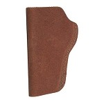 BIANCHI 6 Waistband Holster, CZ75, Para P12, Natural Suede, Size 09, Right Hand