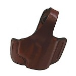 BIANCHI 5 Black Widow Leather Holster, Sig 229R, Plain Tan, Size 8AR, Right Hand