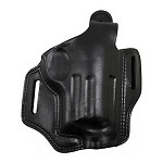 BIANCHI 5 Black Widow Leather Holster, Black, Fits Taurus Judge 3